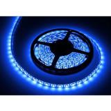 Cumpara ieftin Banda LED 300 diode IP65, 5 m, 1.2 A, 12 V, culoare albastru, waterproof