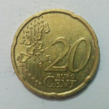 Germania - 20 euro cent - 2002, litera F (monedă, M0063)