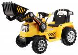Tractor electric cu telecomanda Malipen cu excavator frontal