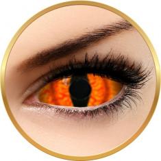Fantaisie Sclera Shadowcat - lentile de contact pentru Halloween anuale - 365 purtari (2 lentile/cutie)