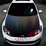 """Sticker Imprimat Color pentru Capota """"Hood Art"""" cod: KM-HOOD-99"""