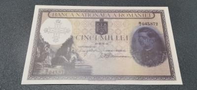 România 1000 Lei 1940 REPLICA foto