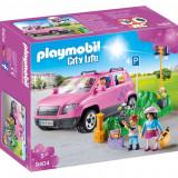 Masina de familie cu loc de parcare Playmobil