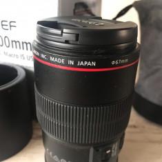 Obiectiv Canon 100 mm Macro 2.8 L IS USM