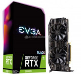 Placa video Evga GeForce RTX 2080 Ti Black Edition Gaming, 11GB, GDDR6, 352-bit