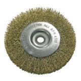 Perie sarma alama tip circular cu orificiu 75mm