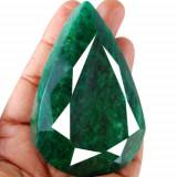 Smarald natural ornamental imens  superb ideal pentru a fi admirat cu certificat