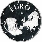 Bulgaria 10 000 Leva 1998 (Rider of Madara) Argint 23.33 g/925, Aoc1 KM-235 UNC