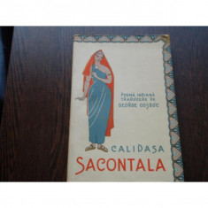 CALIDASA SACONTALA - POEMA INDIANA