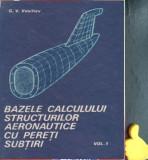 Bazele calculului structurilor aeronautice cu pereti subtiri Vasiliev