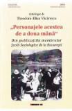 Personajele acestea de a doua mana - Antologie de Teodora-Eliza Vacarescu