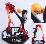 Figurina Sanji One piece 17 cm anime Diable Jambe