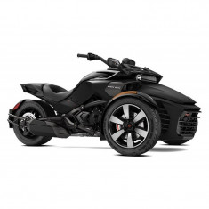 Promotie Can-Am Spyder F3-S SM6 Monolith Black Satin 2018