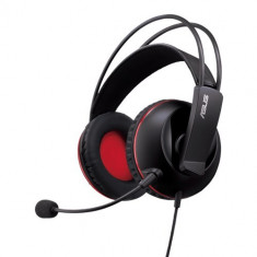 Casti gaming Asus Cerberus, negru, Casti cu microfon, Analog