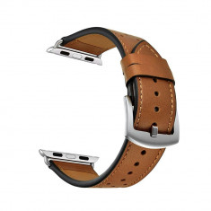 Curea piele Tech-Protect Leather Apple Watch 1/2/3/4 (42/44mm) Brown