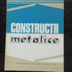 CONSTRUCTII METALICE - N. PATRINICHE