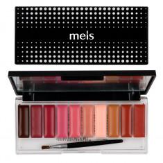 Paleta Ruj si Gloss 10 culori #04 Nude Glow