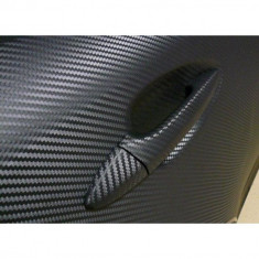 Folie carbon 3d NEAGRA dimensiuni 127cm x 100cm
