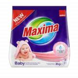 Detergent rufe pudra Sano Maxima Baby, 2Kg, 20 spalari