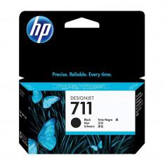 Cartus original cerneala HP 711 CZ129A, Black, 38 ml
