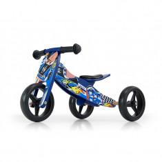 Bicicleta multifunctionala 2 In 1 Jake Blue Cars