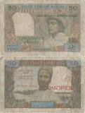 1969 , 50 francs ( UNL2 ) - Madagascar ( Comore )
