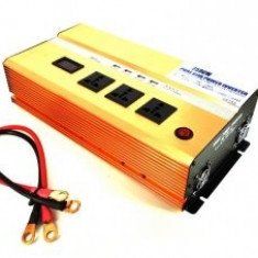 Invertor - Convertor profesional 12v-220v 2500W 50Hz