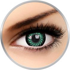 Eyelush Green - lentile de contact colorate verzi trimestriale - 90 purtari (2 lentile/cutie)