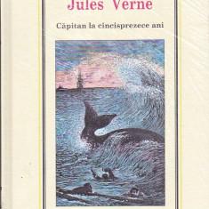 JULES VERNE - CAPITAN LA CINCISPREZECE ANI ( ADEVARUL )
