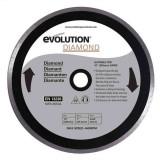 Cumpara ieftin Disc diamantat pentru fierastrau circular Evolution EVORAGEBLADE255DIAMOND-1619, O255x25.4 mm
