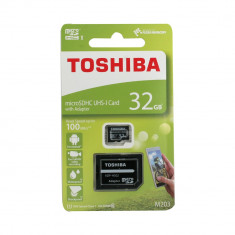 Card Toshiba MicroSD C10 32GB, Micro SD, 32 GB