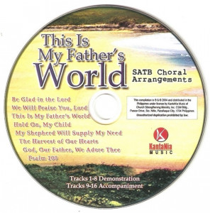 CD This Is My Father's World, original