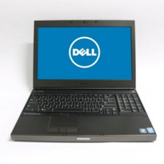 Laptop Dell Precision M4800, Intel Core i7 Gen 4 4810MQ 2.8 GHz, 8 GB DDR3, 256 GB SSD NOU, DVDRW, Placa Video AMD FirePro M5100, WI-Fi, Display