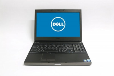 Laptop Dell Precision M4800, Intel Core i7 Gen 4 4810MQ 2.8 GHz, 8 GB DDR3, 500 GB HDD SATA, Placa Video AMD FirePro M5100, WI-Fi, Bluetooth, WebCam, foto