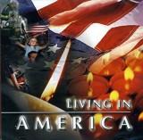 CD original Living in America James Brown Neil Diamond Chicago Joan Baez Cher