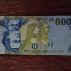 Bancnote -  Romania 1998 -1000 lei-necirculat