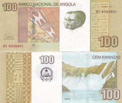 Angola 100 Kwanzas 10.2012 UNC foto