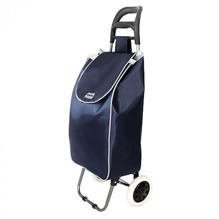 Carucior pentru piata Shopping Cart, 96 cm, Albastru