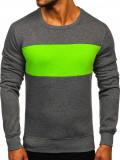 Bluză grafit-verde Bolf 2021