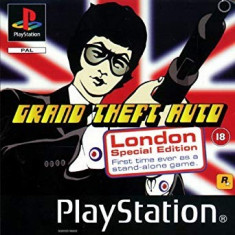 GTA - Grand Theft Auto London Sepcial Edition - PS1 [Second hand], Multiplayer, Actiune, Toate varstele