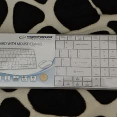 Kit Tastatura+Mouse wireless Esperanza Liberty