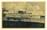 3668 - TURNU-SEVERIN, ship Carol II, Romania - old postcard, CENSOR - used, Circulata, Printata