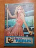 Revista flacara rebus 15 septembrie 1983 - 2 rebusuri completate din 21