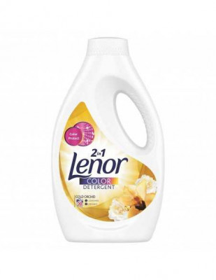 Detergent automat lichid Lenor Color 2in1 Gold Orchid 20 spalari 1,1L foto
