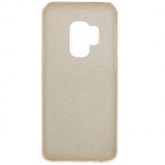 Husa silicon 3 in 1 cu sclipici Samsung S9 plus 5 culori