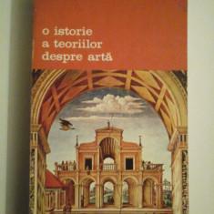 O istorie a teoriilor despre arta - Jan Bialostocki