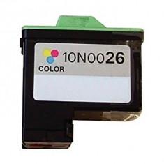 Cartus color compatibil Lexmark 26 Lexmark-26 Lexmark26 10N0026 imp X1100 X1150..., Multicolor
