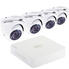 Camere supraveghere de 1 MP si inregistrator DVR