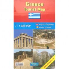 Harta rutiera Grecia |