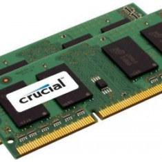 Memorie Laptop Crucial SO-DIMM, DDR3L, 16GB @1600MHz, CL11, 1.35V